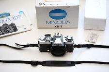 Minolta XD7 Body, neue Version, inkl. OVP!