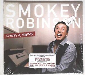 Smokey-Robinson-Smokey-amp-Friends-B0019016-02-US-CD-Album-SEALED