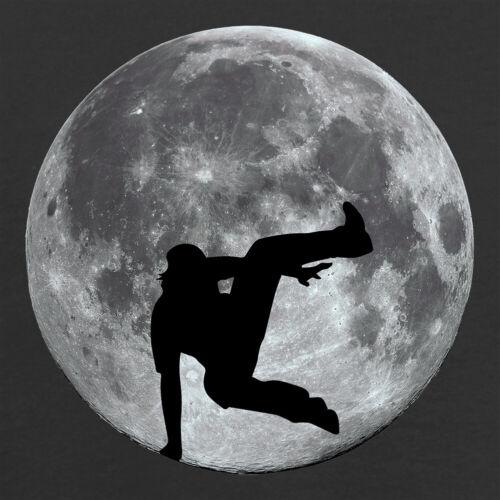 Free Run Freerun Free Runner Space Kids T-Shirt Free Running Moon