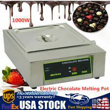 Electric Chocolate Melting Fondue Pot Butter Cheese Thermostat Melt Warmer