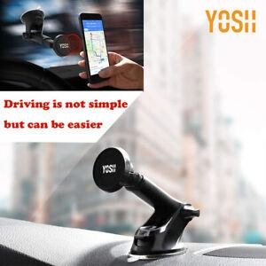 Car-Phone-Holder-YOSH-Magnetic-Dashboard-Car-Mount-Windshield-Cellphone-Holder