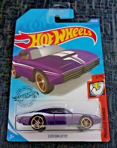 Mattel-Hot-Wheels-Personalizado-Otto-Nuevo-Sellado