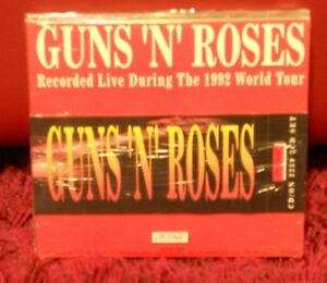 GUNS-039-N-039-ROSES-recorded-live-during-the-1992-world-tour-3-cd-sigillato
