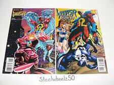 The Visitor #1 & 13 Comic Lot Valiant 1995 Bernard Chang Signed Reveals Identity