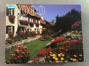 "Golden Guild~""HOME & FLOWER GARDEN"" Owen, Germany~1000 Pc. Puzzle~NEW~200"