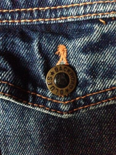 Tartan Grunge Blues Trucker Denim Very foderato Check Western Plaid Jacket Backroad qAgawXq