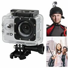 HD 720P 30fps Waterproof Pro Sports Camera Action Video Camcorder DV Bike Helmet
