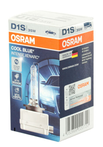 OSRAM d1s 66140 CBI Cool Blue Intense Xenarc fino a 6.000 Kelvin