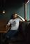 Résumé crâne T Shirt Peinture éclaboussures Squelette Edgy Motard T-Shirt Idée Cadeau Homme Enfant