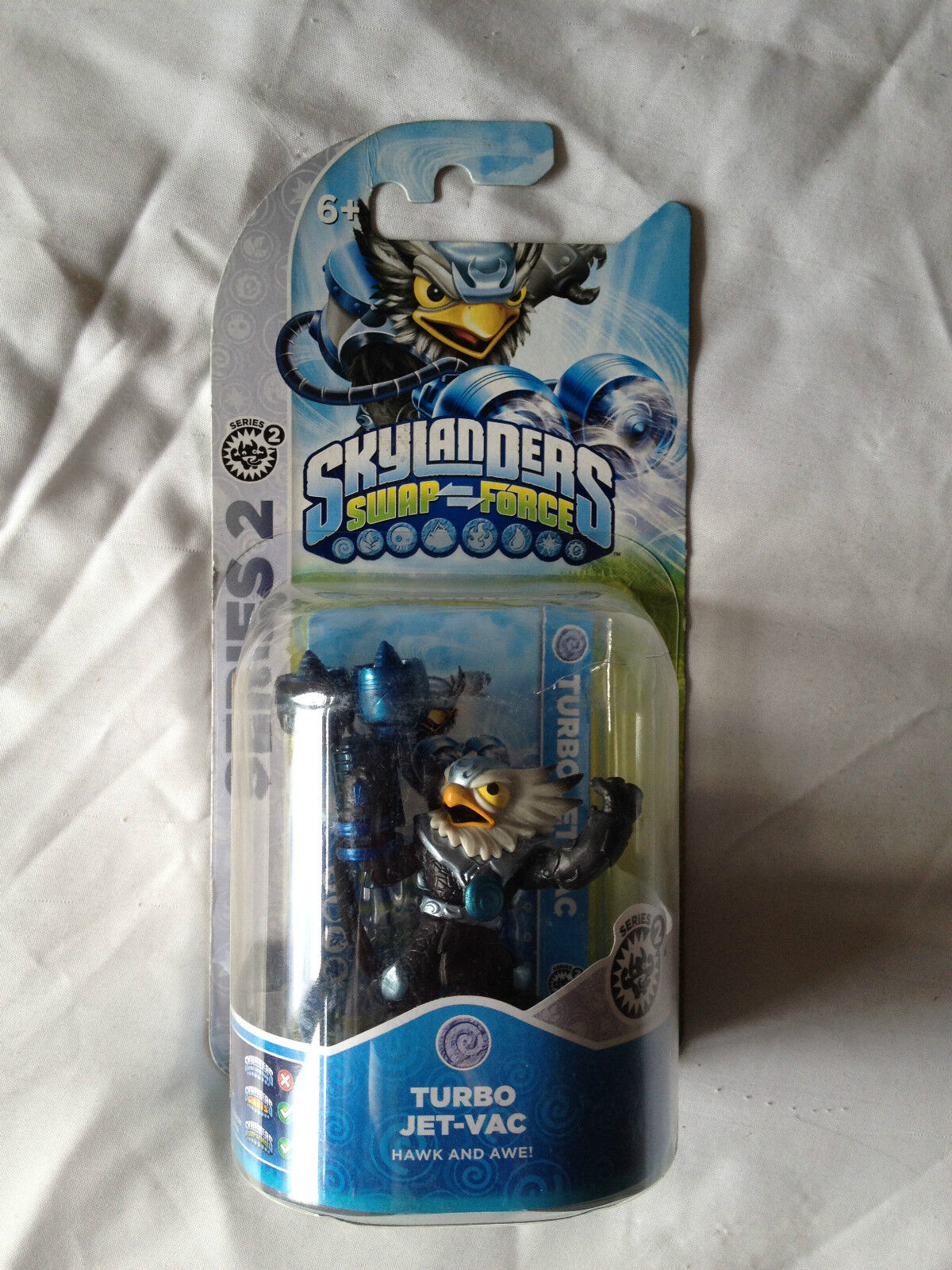 BRAND NEW SKYLANDERS SWAP FORCE TURBO JET-VAC  SERIES 2