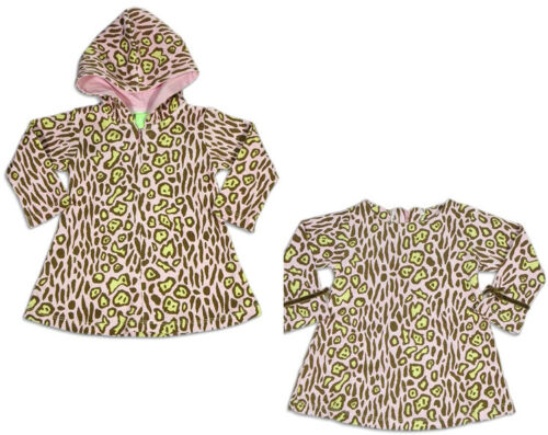 Pink Leopard Print SnoPea Baby Infant Newborn Girls Cotton Long Sleeve Dress
