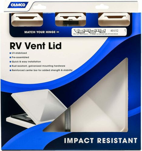 """Rv Camper Roof Vent Lid Replacement Cargo Motorhome Trailer Bus Vent Cover 14/"""""""