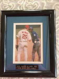 Mark-McGwire-amp-Sammy-Sosa-034-1998-Home-Run-Kings-034-Picture-frame