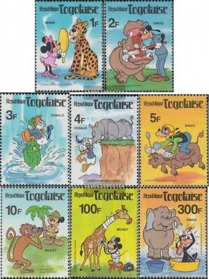 Methodisch Togo 1468-1475 kompl.ausg. Postfrisch 1980 Walt-disney-welt