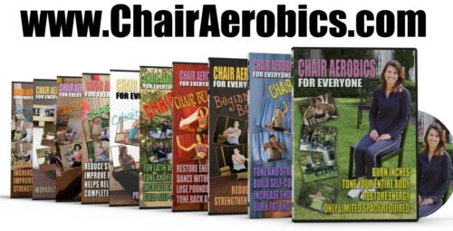 4 DVDs one Super Low Price Chair Aerobics Combo Pack!