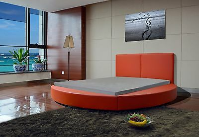 Greatime B1159 Queen Red Modern Round Bed