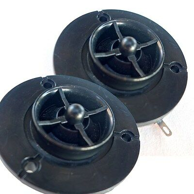 Pair Klipsch Horn Tweeter Repair Replacement Driver 8 Ohms Neo Magnet Soft Dome