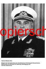 G71 Admiral Wilhelm Ehm Volksmarine NVA DDR Foto 20x30 cm