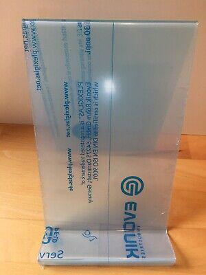 DIN A4 Buchst/ütze//Buchst/änder Warenst/ütze//Warentr/äger aus Acryl