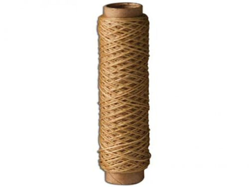 Waxed Thread 138 Fine 25 Yards 22.9 m Natural 1206-04 by Tandy Leather