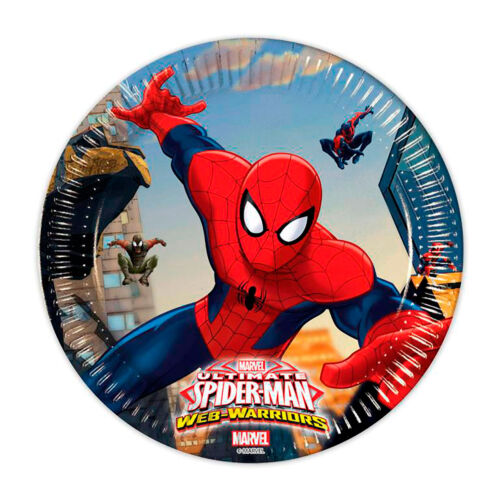 Spiderman Party Supplies hats cups etc... napkins plates banners