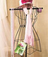 Freestanding Vintage Dress Form Mannequin Boutique Clothes Rack Jewelry Hanger