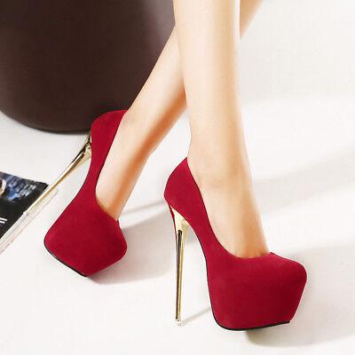 Men/'s Stiletto Pumps Platform Drag Queen White Crossdresser Heels Women Shoes
