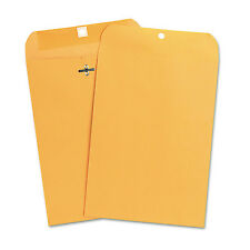 UNIVERSAL Kraft Clasp Envelope Center Seam 28lb 7 1/2 x 10 1/2 Brown Kraft 100