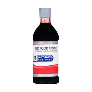 Details about McCormick Culinary Red Food Color, 1 pt, Premium Quality,  Consistent Color,