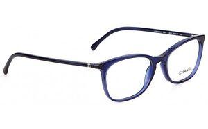 8e1dd8450e Chanel 3281 c503 Blue Size 52-54 Precription Eyewear Authorized ...
