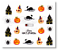 Halloween-Nails-Water-Decals-Nail-Stickers-Pumpkins-Bats-Haunted-Cats-Spiders miniatuur 9