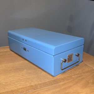 "Vintage 3-Digit Combo Policy Deposit Box Safe ""NEW YORK"""