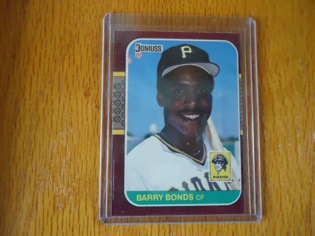 1987 Donruss Barry Bonds #163 Baseball Card