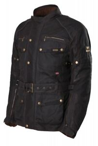 MODEKA-Glasgow-Hommes-Blouson-moto-veste-Ciree-impermeable-doublure-thermique
