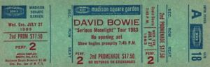 DAVID-BOWIE-1983-SERIOUS-MOONLIGHT-TOUR-UNUSED-MSG-CONCERT-TICKET-A18-2nd-PROM