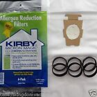 6 Kirby Universal F Vacuum Bags Allergen Sentria Ultimate Diamond G6 G5 6 Belts