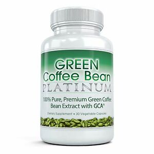 Best Green Coffee Bean Platinum Pure Premium Extract 30 Vegetable Capsules Ebay