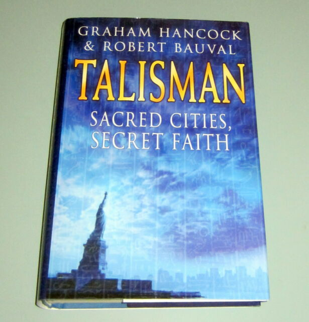 Signed by GRAHAM HANCOCK TALISMAN SACRED CITIES Secret Societies Freemasons