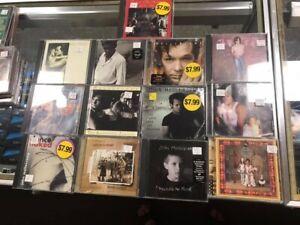 JOHN COUGAR MELLENCAMP CD LOT UH HUH,AMERICAN FOOL,DANCE