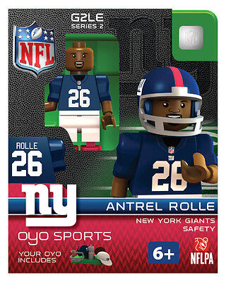 Antrel Rolle OYO New York Giants NFL Football Figure LEGO compatible G2