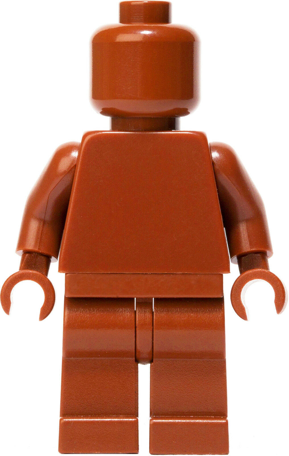 LEGO Dark Orange MONOFIG (Monochrome Minifigure)