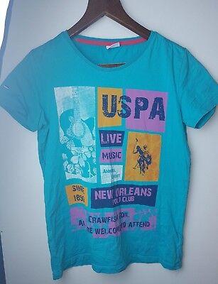 US Polo Assn Kinder Blau T Hemd Top Alter 12 13 | eBay