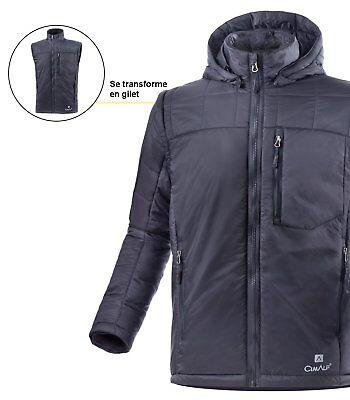 Cooperativa Veste Duvet Primaloft Manches Amovibles Discovery - Homme - Noir Taille M