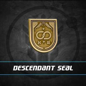 Descendant Raid Seal Complete