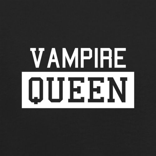 Vampire Queen Womens T-Shirt Diaries Mythical Vampires Halloween