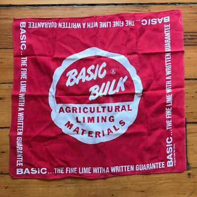 Appena Vintage Basic Bulk Agricolo Calcinaio Fazzoletto 18 X18