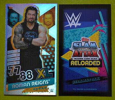 Roman Reigns WWE Slam Attax 12 Universe Karte 282 Omg moments