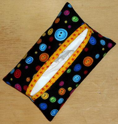 M/&M/'s Travel Tissue Cover Handmade