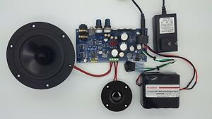 class a b audio board 60w 4ohm bluetooth diy complete kit w battery