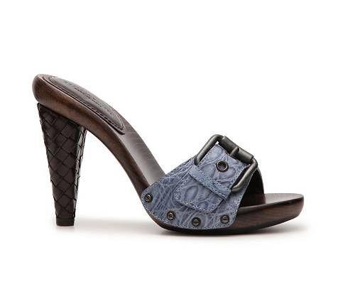 NIB New Bottega Veneta Reptile Leather Buckle Sandal shoes Sizes 35-39   700+tax